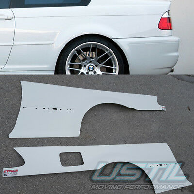 BMW E46 2000 2006 M3 Rear Fenders Over fenders Fender flares