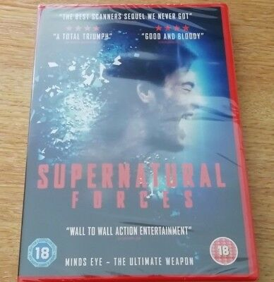 Supernatural Forces (DVD, 2016, Sci-Fi, NEW & SEALED) *FREE POSTAGE*