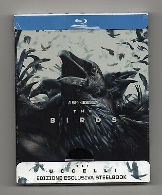 The Birds - Blu-ray Steelbook - NEW / SEALED - All Regions: ABC