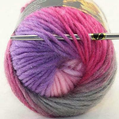 Sale Lot 1Ball x50gr New Knitting Yarn Chunky Colorful Hand Wool Wrap Scarve 802