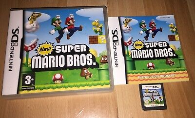 New Super Mario Bros. (Nintendo DS, 2006) works on all DS and 3DS consoles