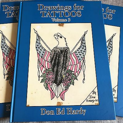 Don Ed Hardy - Drawings For Tattoos Vol. III American Traditional Tattoo Book