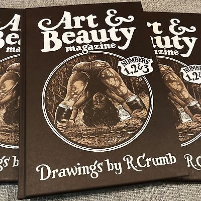 Art & Beauty Magazine - Drawings by R. Crumb: Numbers 1, 2, & 3