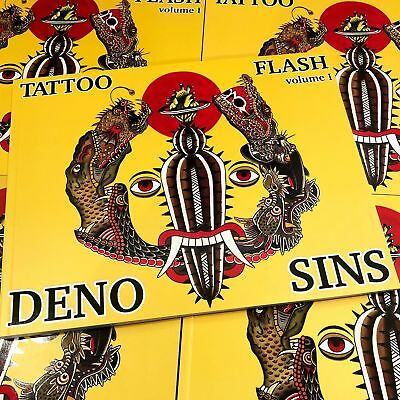 Deno & Sins - Tattoo Flash Volume I (DING & DENT)
