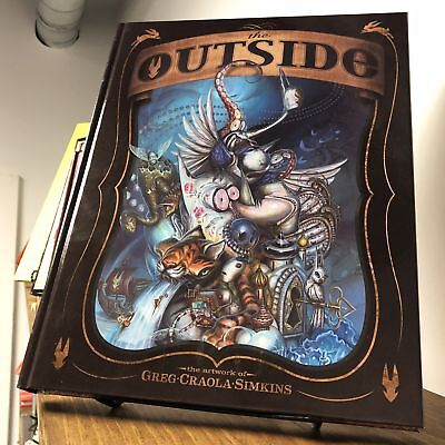 "The Outside: The Artwork of Greg ""Craola"" Simkins (DING & DENT)"