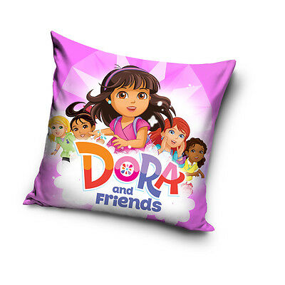NEW Dora & Boots cushion cover 40 x 40 cm 100% COTTON pillow cover 14