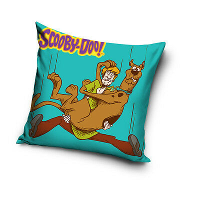 NEW LICENSED SCOOBY-DOO! & SHAGGY ROGERS cushion cover 40x40cm 100% COTTON 02