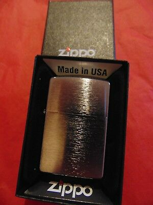NEW in BOX!! Classic Brushed Chrome ZIPPO Chrome Windproof Lighter Retail $16.95