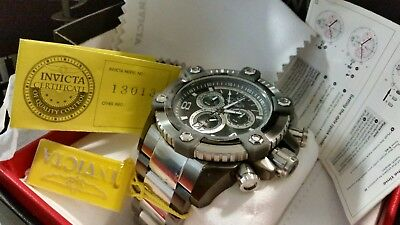 Invicta Reserve 63mm Grand Octane Swiss Made Quartz Chronograph Stainless Steel