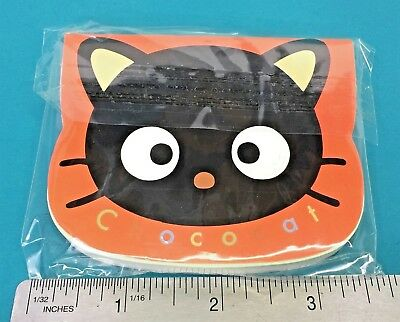Vintage Sanrio Chococat Kitty Cat Mascot Paper Message 90 Sheets Notepad 1999