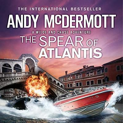 The Spear of Atlantis - By Andy McDermott - Audiobook