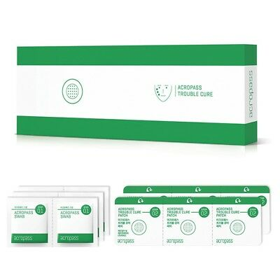 Acropass Trouble Cure (6 Swabs + 6 Patches) Micro Needle Patch K-beauty