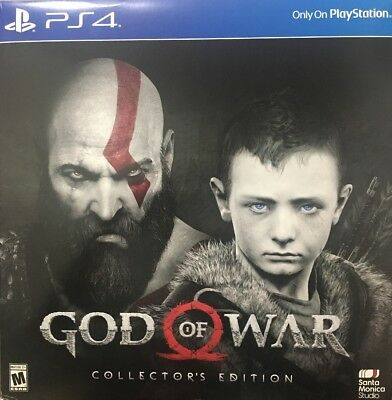 God of War - Collector's Edition - PlayStation 4 - New