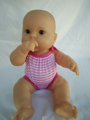 "BERENGUER 36cm/14"" Baby Doll Vinyl Body Brown Eyes"