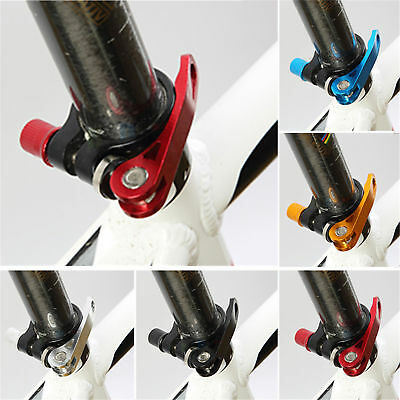 MTB Bike Bicycle Quick Release Seat Post Seatpost Clamp Bolt Binder Skewer New