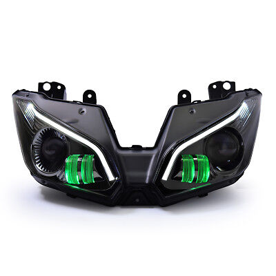 KT LED Headlight for Kawasaki  Ninja 250 Ninja 300 2013-2017