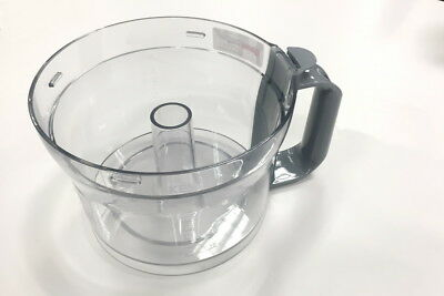 Genuine Kenwood BOWL Assembly FDP30 FDP300 FDP301 FDP302 FDP304, Grey Handle