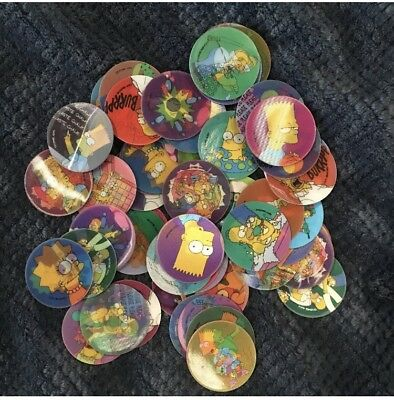Mystery Pack Of The Simpsons Tazos