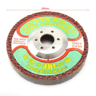 5Pc 4''Polishing Disc Pad For Electric Grinder Buffing For Marble Stone 220 Grit