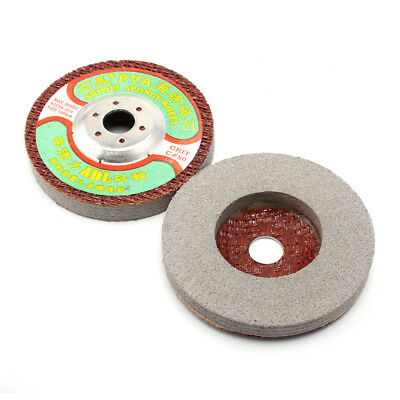 5Pc 4'' Grit 80 Polishing Disc For Electric Grinder Buffing For Marble Stone