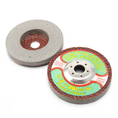 5Pc 4''Polishing Disc For Marble Stone For Electric Grinder Buffing Pad Grit 120