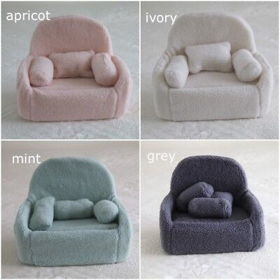 Newborn Baby NEWBORN SOFA COUCH WITH CUSHIONS Baby Girl Boy Photography Prop