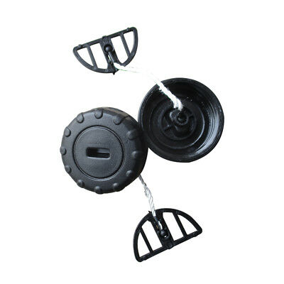2× Fuel Gas Oil Filler Cap Set For Stihl Chainsaw 017 018 MS170 MS180 1130 350