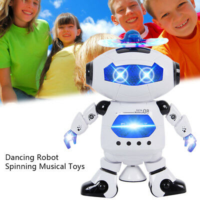 Toys For Boys Robot Kids Toddler Robot Dancing Musical Toy Birthday Newyear Gift