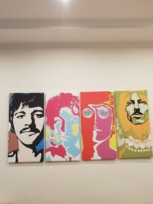 Beatles Andy Warhol Pop Art 4x