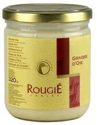Rougie French Goose Fat 320g, for Perfect Roast Potatoes