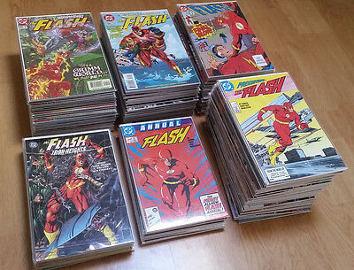 The Flash-DC Comics- Vol.2-1987-2008 + Lot of 13 One Shot The Flash