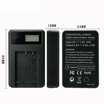 2X Battery +USB Charger For Sony NP-BX1 RX1 RX1R RX100 Ⅱ DSC-WX300 HX50 HX300 VU