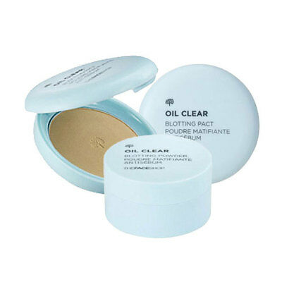 [The Face Shop] Oil Clear Blotting (Powder / Pact / Smooth & Bright Pact)