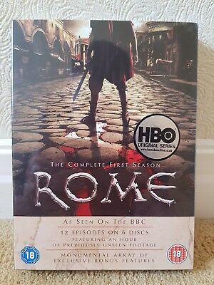 ROME DVD BOXSET BRAND NEW SEALED THE COMPLETE FIRST SEASON 6 DISC SET region 2