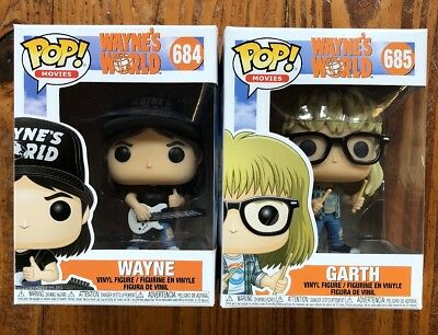 Funko Pop Movies Waynes World Series Wayne & Garth Lot/2
