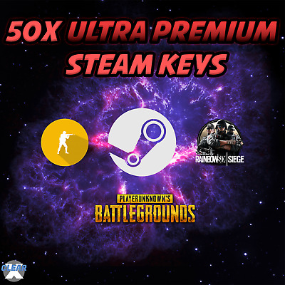 50x Random Premium Steam Key Region Free - PUBG, CSGO, BATTLEFIELD! 500+ Games
