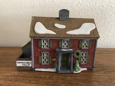 "Department 56 New England Village Series ""shingle Creek House"" 5946-3"