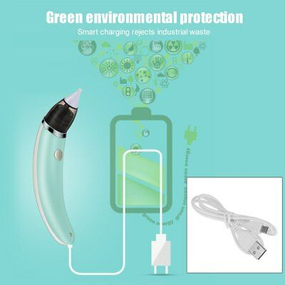 Nose Nasal Electric Aspirator Cleaner Baby Snot Hygienic Safe Sucker Oral