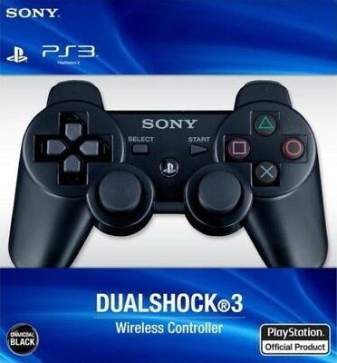 PS3 wireless controller gamepad Sixaxis Play station 3 bluetooth black