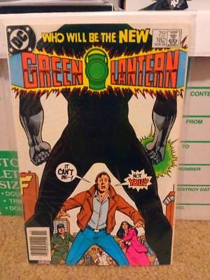 Green Lantern 182 Newsstand F/VF 7.0 John Stewart Becomes Earth's GL
