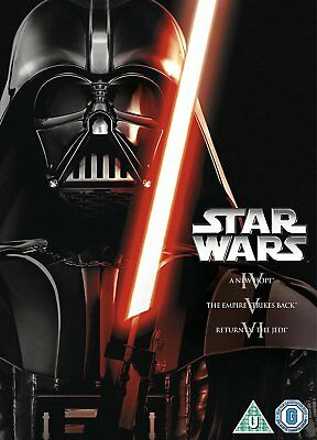 Star Wars - The Complete Saga Films Movies 1-6 (1 2 3 4 5 6) Episodes Dvd New