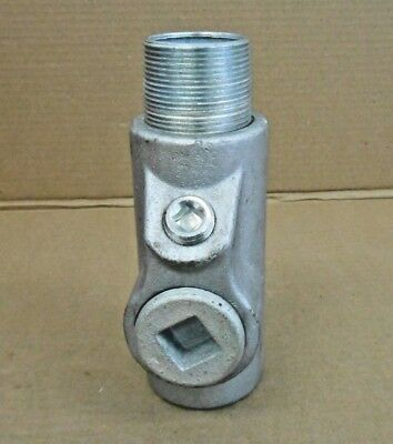 "1 New Crouse Hinds Eys516 1-1/2""  Female/Male Sealing Fitting Haz Loc (2 Avail)"