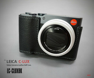 Lim's Design Lims LC-CLUXBK Genuine Italy Leather Case for Leica C-LUX, Black