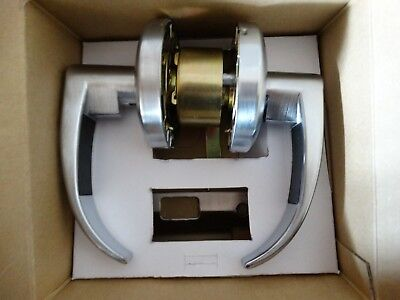 9k Passage Lock Grade 1 Cylindrical Non-keyed 15 Lever D Rose 9K30N15DS3612 NEW