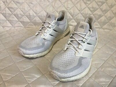 05b6bea2d ADIDAS ULTRA BOOST 2.0 Triple White AQ5929 Sz 13 -  44.99
