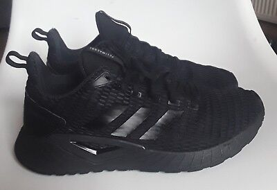 huge discount 3267f 4ff2f Adidas CLIMACOOL Questar CC Black Trainers Size UK 8