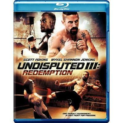 Undisputed III: Redemption [Blu-ray], Good DVD, Michael Baral,Marko Zaror,Hristo