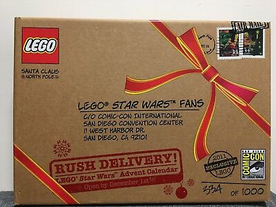 SDCC Exclusive LEGO Star Wars 2011 Advent Calendar Limited Edition Set New
