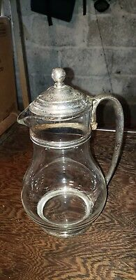 Victor S. Co. Silver Soldered Coffee Pot Pitcher