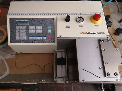 Schleuniger OC3950 cutting machine
